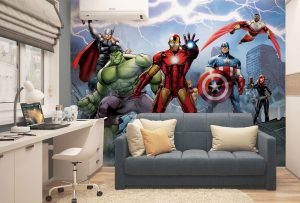 Wall murals from Marvel