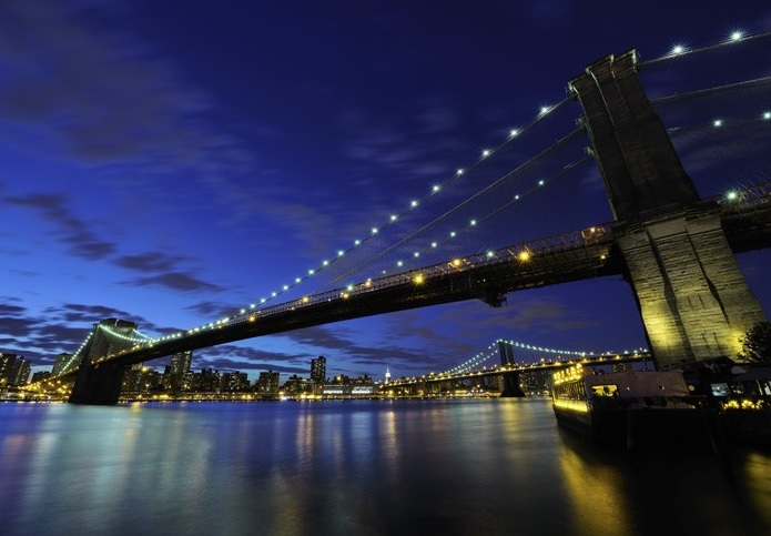 Brooklyn bridge wall photo murals for Brooklyn bridge mural wallpaper