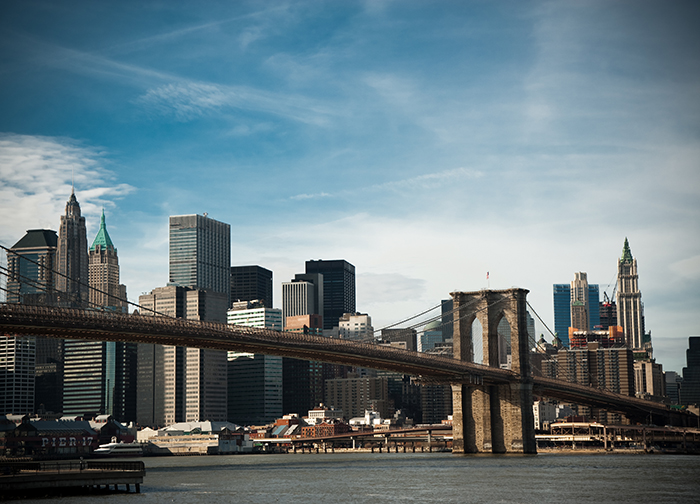 Brooklyn bridge wallpaper murals by homewallmurals for Brooklyn bridge mural wallpaper