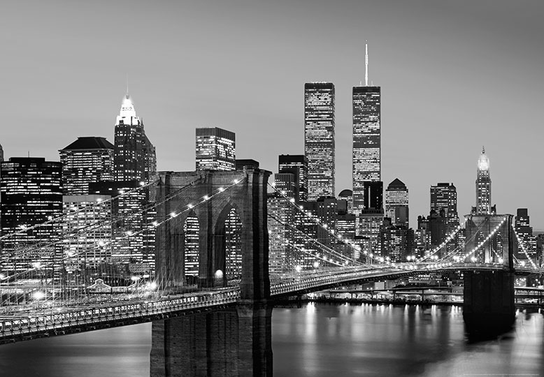 New York City Skyline Wall Mural Part 27