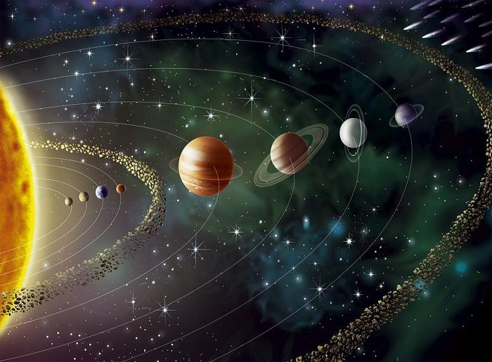Planets - Solar system wallpaper murals | Allwallpapers