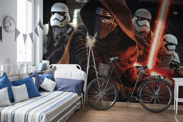 Star wars giant paper wallpapers homewallmurals for Mural star wars