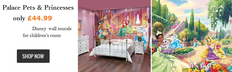 palace pets wallpaper murals