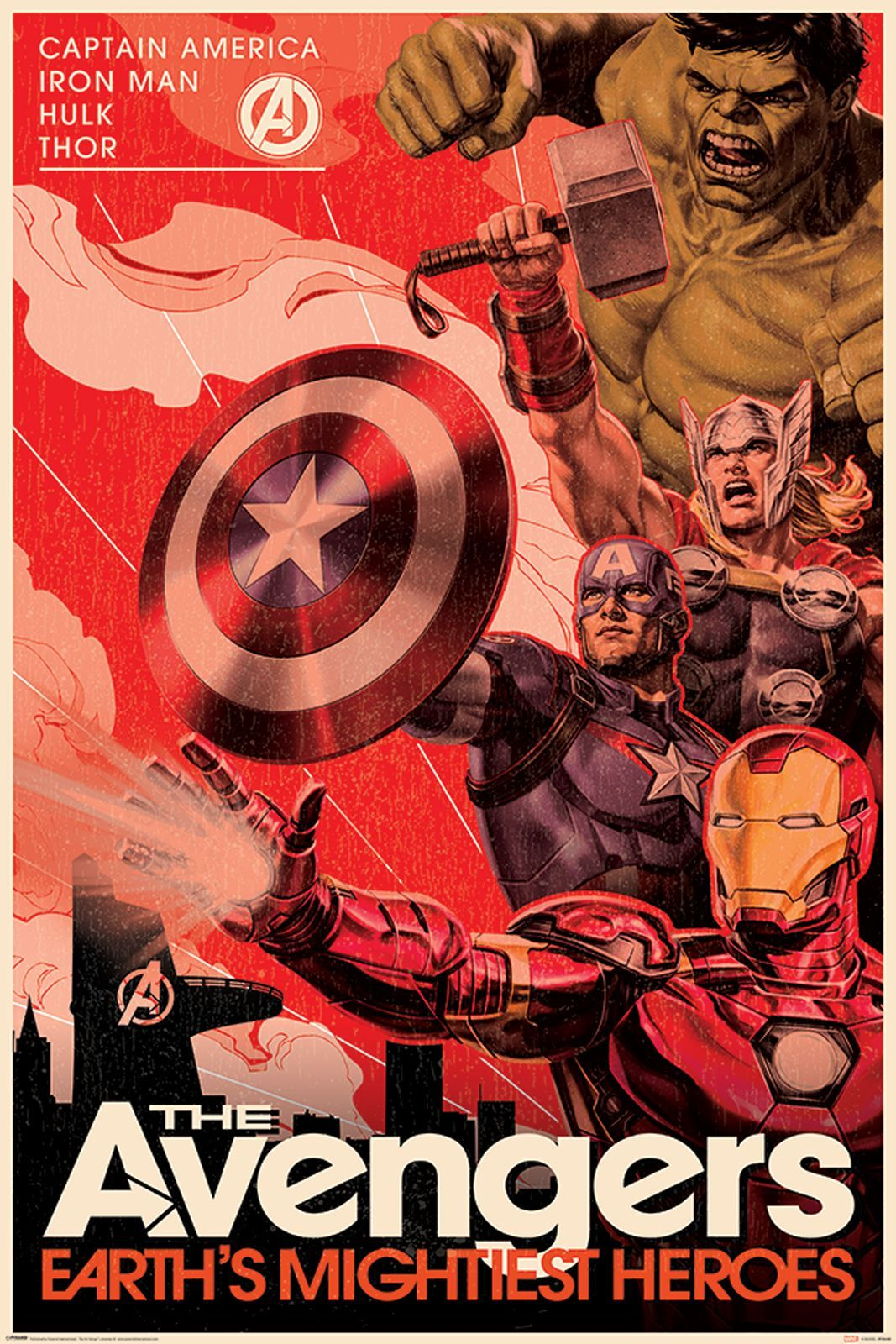 Image for Avengers Movie Poster Buy