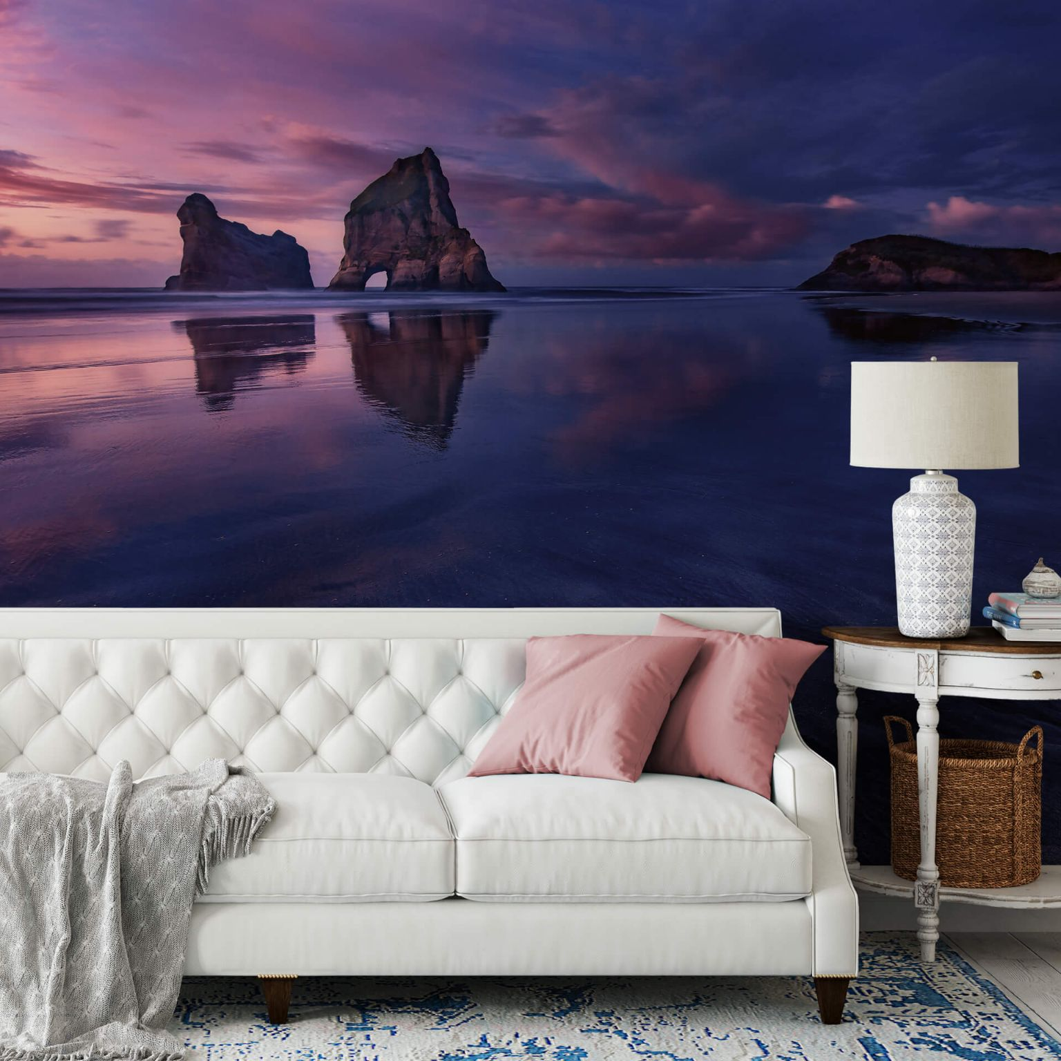 Living Room Photo Wallpapers Sunset Shop Online