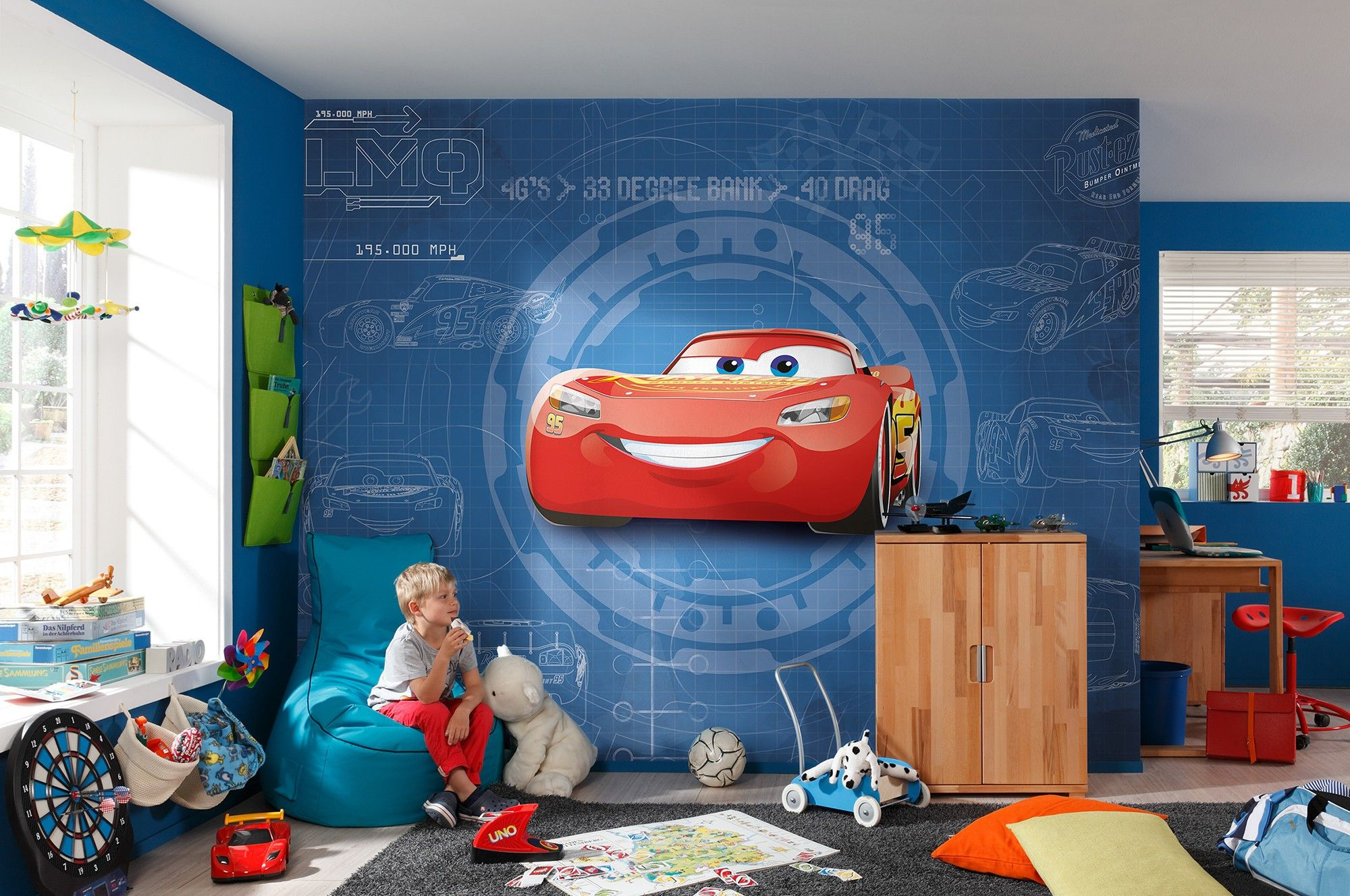 Cars 3 Disney Wall Mural Wallpaper Buy It Now