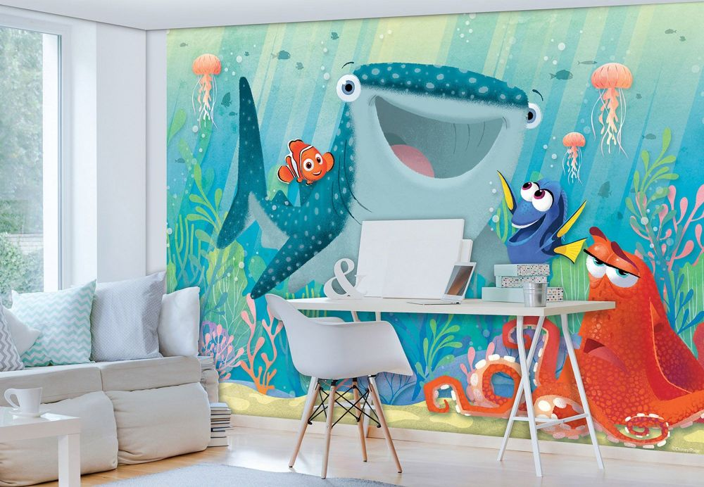 Disney wall murals for wall for Disney cars wall mural full wall huge