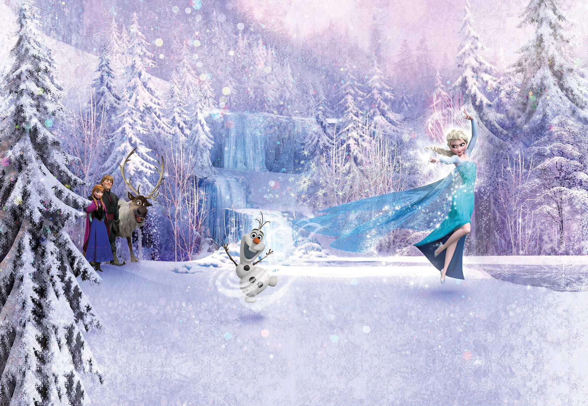 368x254cm giant wall mural photo wallpaper disney frozen for Mural wallpaper