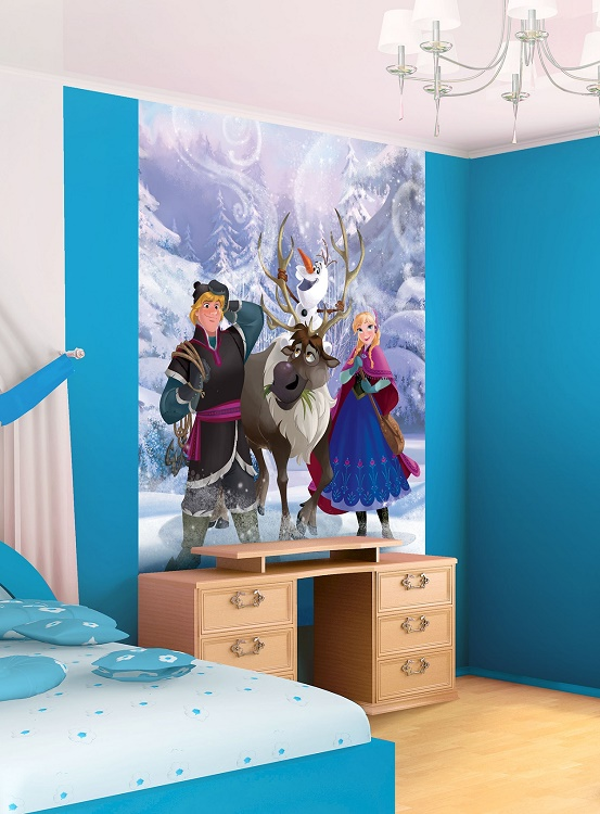 Kristof And Anna Disney Frozen Wall Murals Part 41