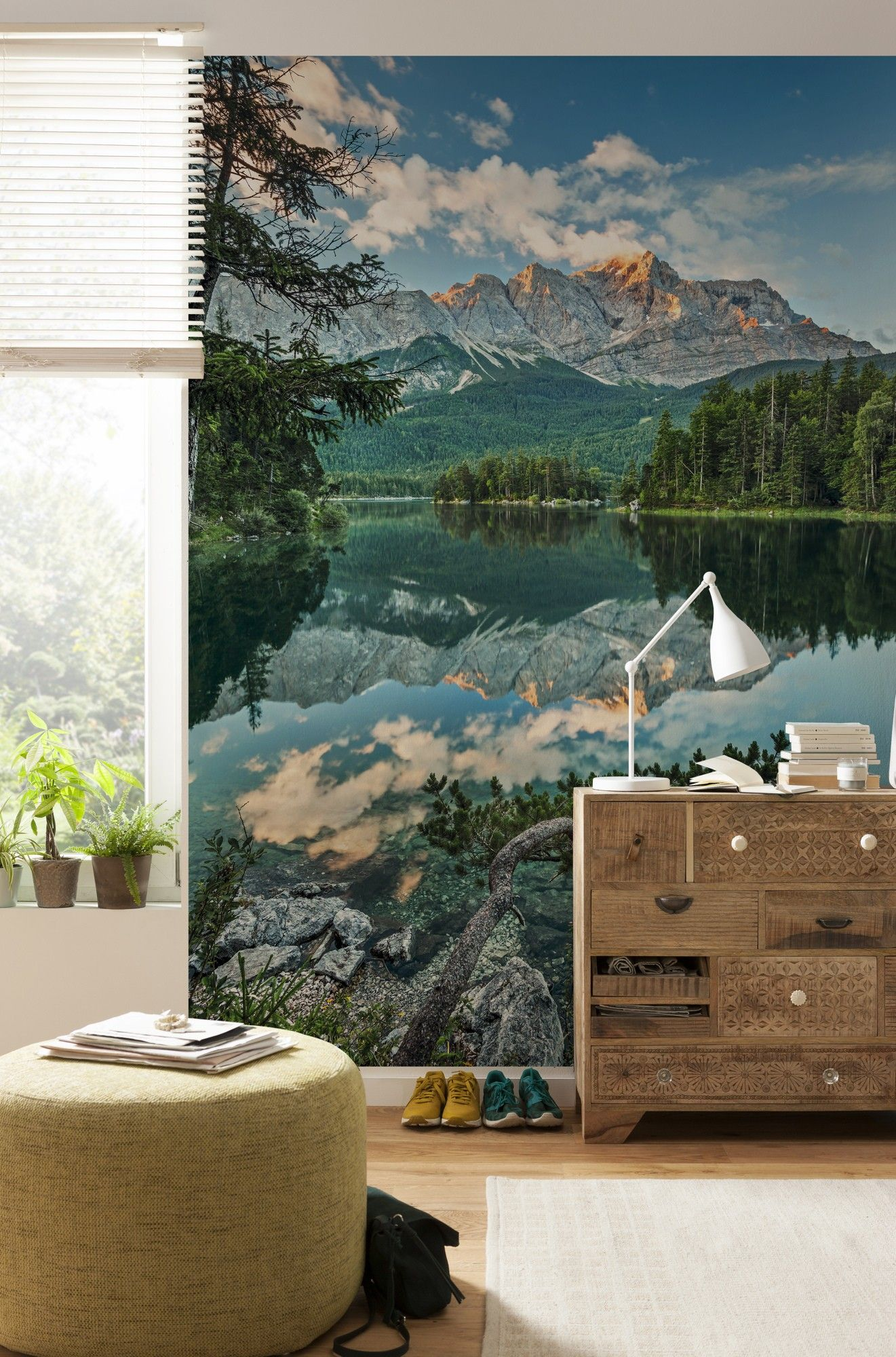 Download Wallpaper Mountain Room - lake-mountains-paper-wallpaper-5092-p  HD_70210.jpg