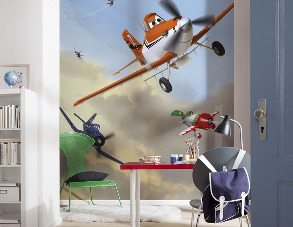 Planes Rusty Disney wall mural wallpaper