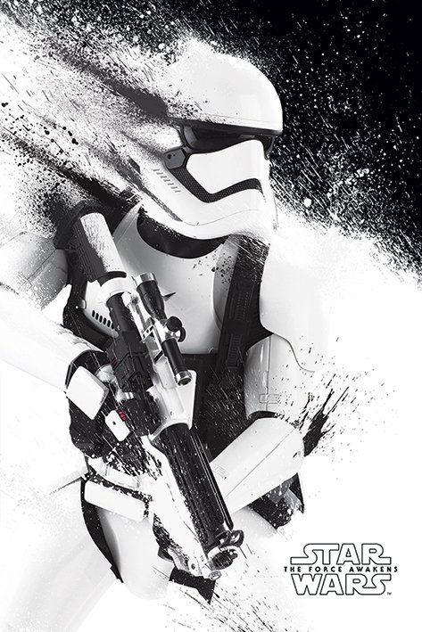 Star Wars Force Awakens VII Stormtrooper 61x91,5cm Movie Poster | Buy it now
