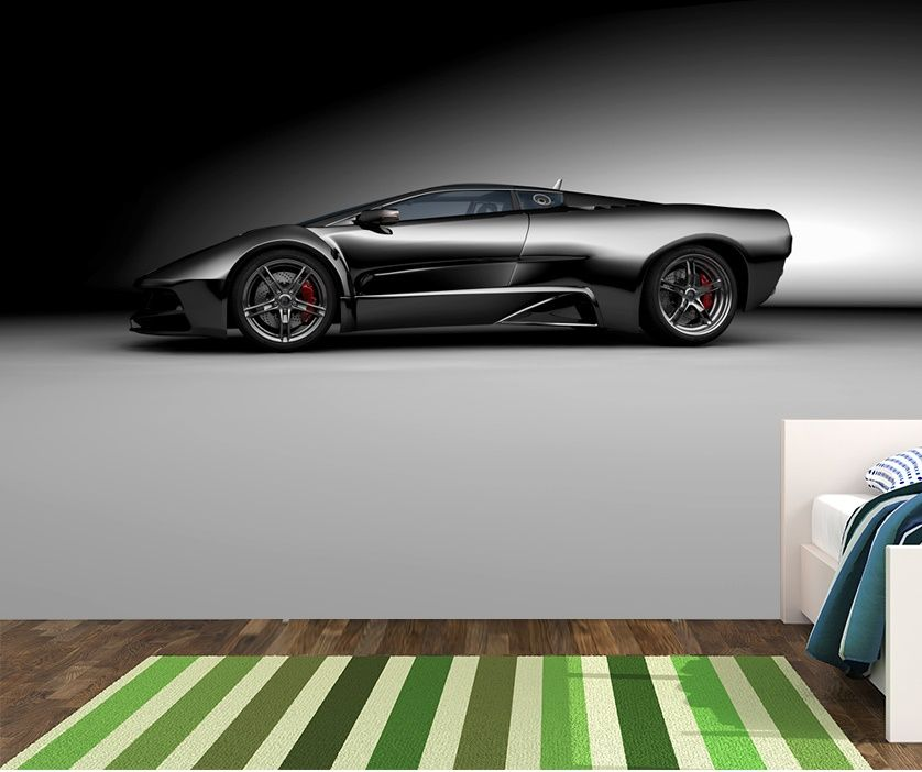 Super sports car wall murals Homewallmuralscouk
