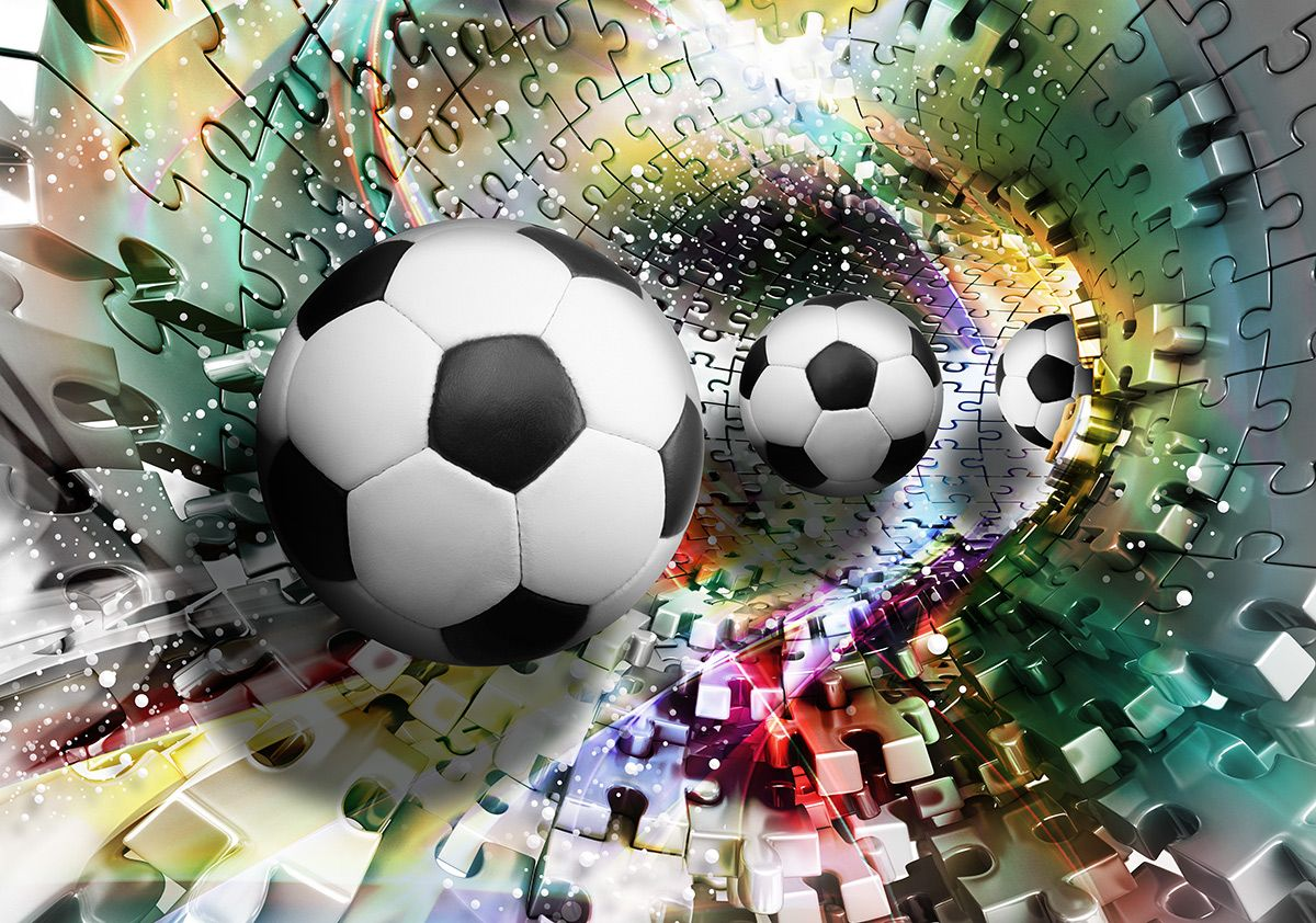 High quality kids bedroom wallpapers footballs for 3d wallpaper for home amazon