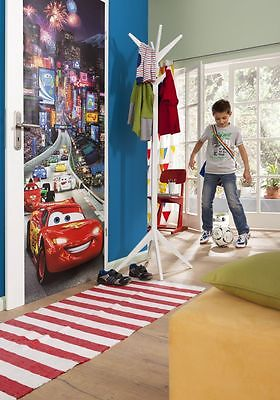 Wall mural photo wallpaper cars tokio race for bedroom for Disney pixar cars mural wallpaper