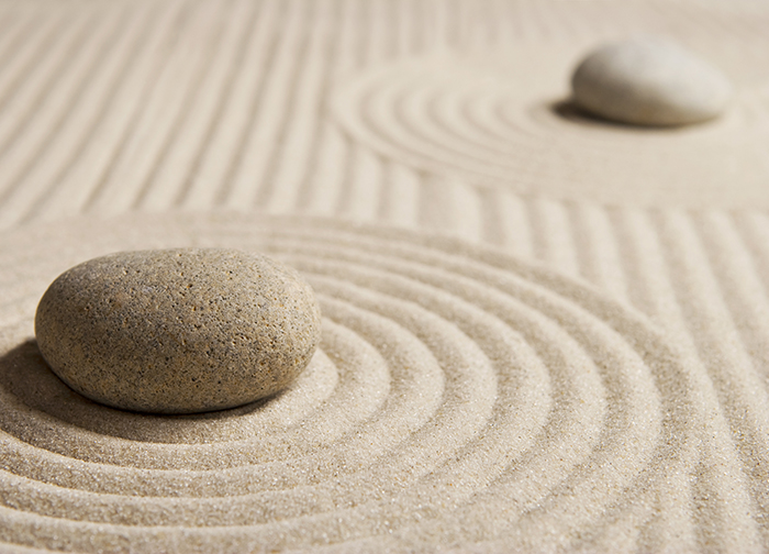 zen stones on the sand wallpaper murals by homewallmurals