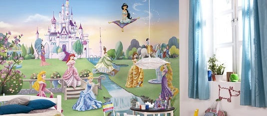 Disney Castle wall mural photo wallpaper