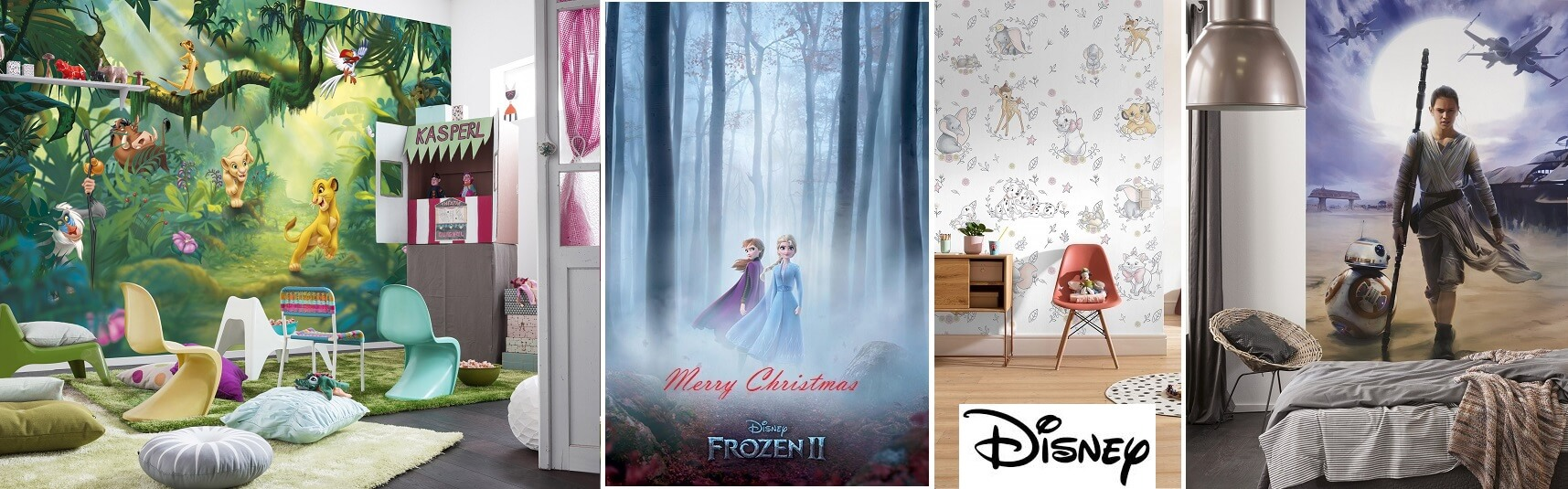 Christmas promotion wallpaper murals for interior walls